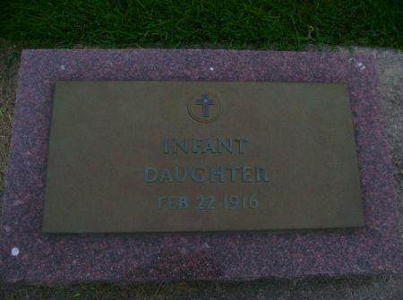 JENISON, INFANT DAU. - Wright County, Iowa | INFANT DAU. JENISON