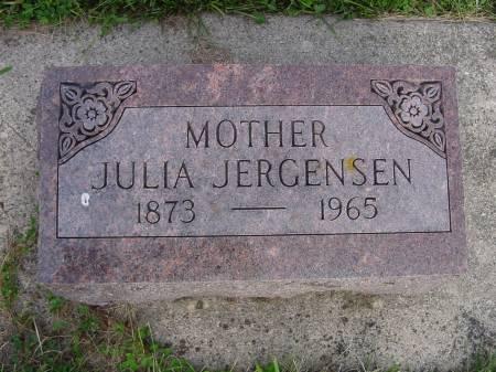ANDERSON JERGENSEN, JULIA - Wright County, Iowa | JULIA ANDERSON JERGENSEN