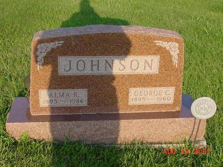 JOHNSON, GEORGE C. - Wright County, Iowa | GEORGE C. JOHNSON