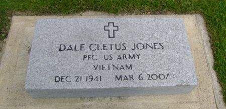 JONES, DALE CLETUS - Wright County, Iowa | DALE CLETUS JONES