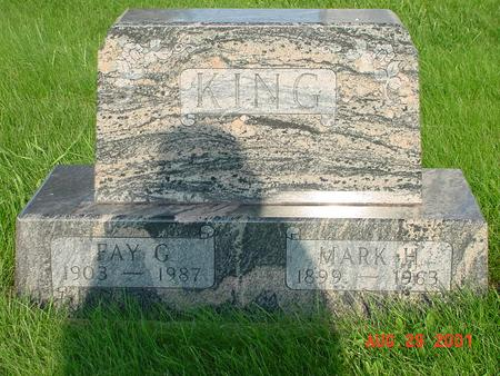 KING, FAY G. - Wright County, Iowa | FAY G. KING