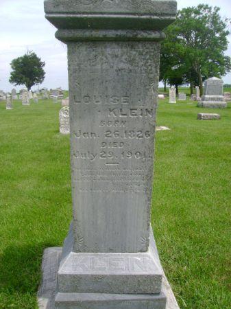 KLEIN, LOUISE - Wright County, Iowa | LOUISE KLEIN