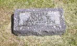 KRAFT, ANNA W. - Wright County, Iowa | ANNA W. KRAFT