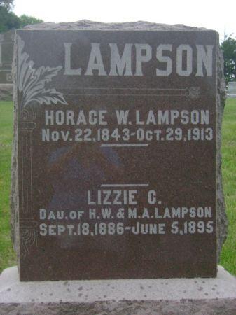 LAMPSON, LIZZIE C. - Wright County, Iowa   LIZZIE C. LAMPSON