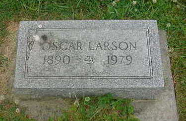 LARSON, OSCAR - Wright County, Iowa | OSCAR LARSON