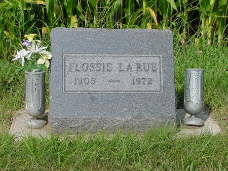 LARUE, FLOSSIE DELL - Wright County, Iowa | FLOSSIE DELL LARUE