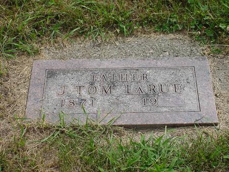 LARUE, JAMES THOMAS - Wright County, Iowa   JAMES THOMAS LARUE