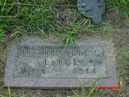 LARUE, RUSSELL C. - Wright County, Iowa | RUSSELL C. LARUE
