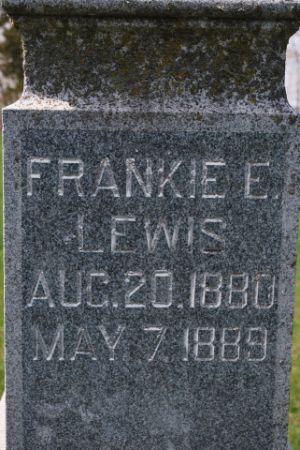 LEWIS, FRANKIE E - Wright County, Iowa | FRANKIE E LEWIS