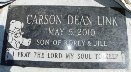LINK, CARSON DEAN - Wright County, Iowa | CARSON DEAN LINK