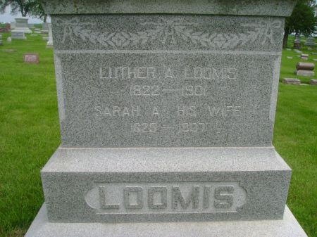 LOOMIS, SARAH A. - Wright County, Iowa | SARAH A. LOOMIS