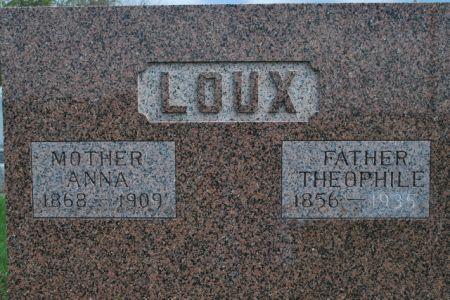 LOUX, ANNA - Wright County, Iowa | ANNA LOUX