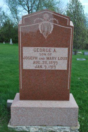 LOUX, GEORGE A - Wright County, Iowa | GEORGE A LOUX