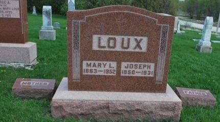 LOUX, JOSEPH - Wright County, Iowa | JOSEPH LOUX