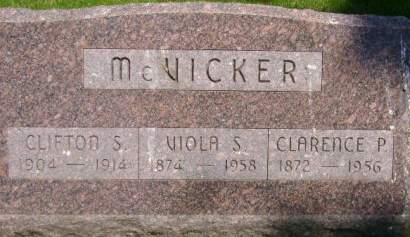 MCVICKER, VIOLA S. - Wright County, Iowa | VIOLA S. MCVICKER
