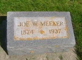 MEEKER, JOE W. - Wright County, Iowa | JOE W. MEEKER