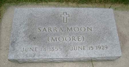 MOORE MOON, SARRA - Wright County, Iowa | SARRA MOORE MOON