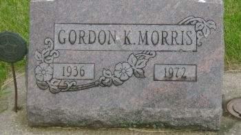 MORRIS, GORDON K. - Wright County, Iowa   GORDON K. MORRIS