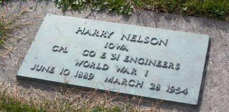 NELSON, HARRISON (HARRY) - Wright County, Iowa | HARRISON (HARRY) NELSON