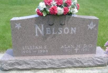 NELSON, LILLIAN F. - Wright County, Iowa | LILLIAN F. NELSON