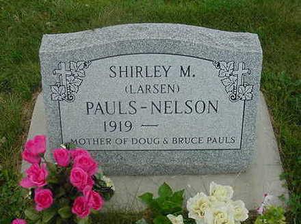 LARSEN NELSON, SHIRLEY - Wright County, Iowa | SHIRLEY LARSEN NELSON
