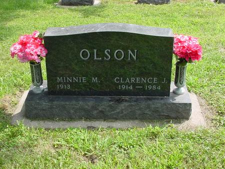 OLSON, CLARENCE J. - Wright County, Iowa | CLARENCE J. OLSON