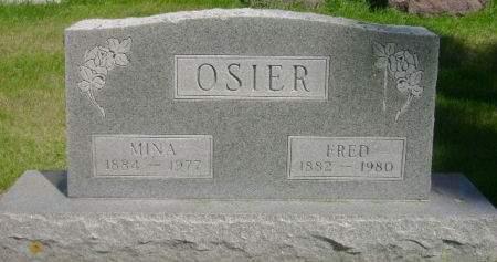 OSIER, FRED - Wright County, Iowa | FRED OSIER