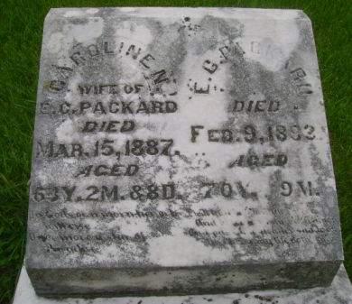 PACKARD, E. C. - Wright County, Iowa   E. C. PACKARD
