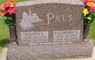 PALS, MINNIE - Wright County, Iowa | MINNIE PALS
