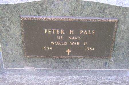 PALS, PETER H. - Wright County, Iowa   PETER H. PALS