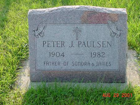 PAULSEN, PETER J. - Wright County, Iowa | PETER J. PAULSEN