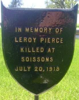 PIERCE, LEROY - Wright County, Iowa   LEROY PIERCE