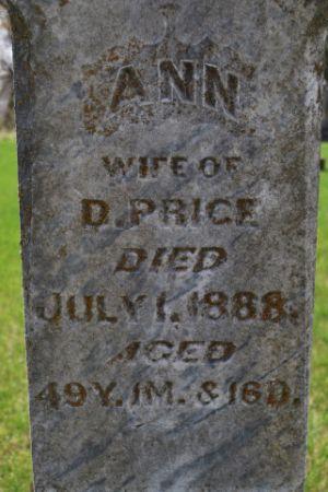 PRICE, ANN - Wright County, Iowa | ANN PRICE