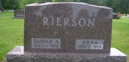 RIERSON, HAROLD - Wright County, Iowa | HAROLD RIERSON