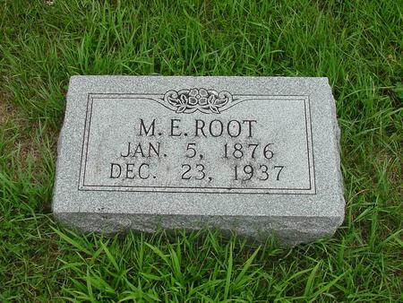 ROOT, M. E. - Wright County, Iowa | M. E. ROOT