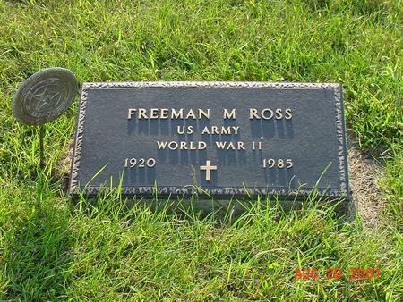 ROSS, FREEMAN M. - Wright County, Iowa | FREEMAN M. ROSS