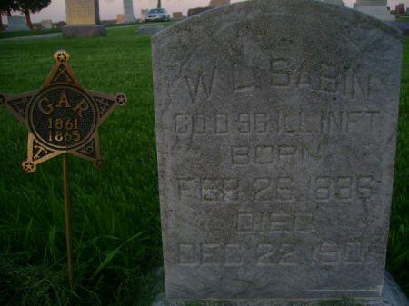SABIN, W.L. - Wright County, Iowa | W.L. SABIN