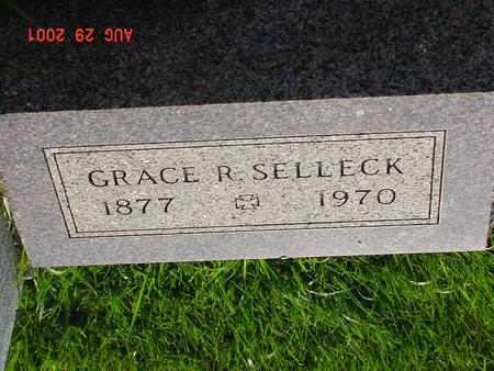ROBERTSON SELLECK, GRACE BARBARA - Wright County, Iowa | GRACE BARBARA ROBERTSON SELLECK
