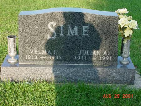 SIMES, VELMA L. - Wright County, Iowa | VELMA L. SIMES
