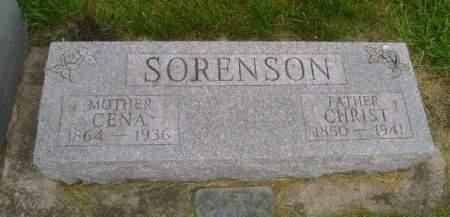 SORENSON, CHRIST - Wright County, Iowa | CHRIST SORENSON