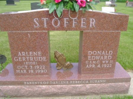 STOFFER, ARLENE GERTRUDE - Wright County, Iowa | ARLENE GERTRUDE STOFFER
