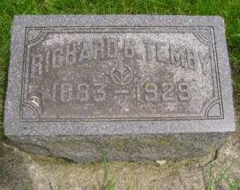 TEMBY, RICHARD B. - Wright County, Iowa   RICHARD B. TEMBY