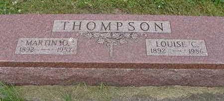 THOMPSON, MARTIN O. - Wright County, Iowa | MARTIN O. THOMPSON