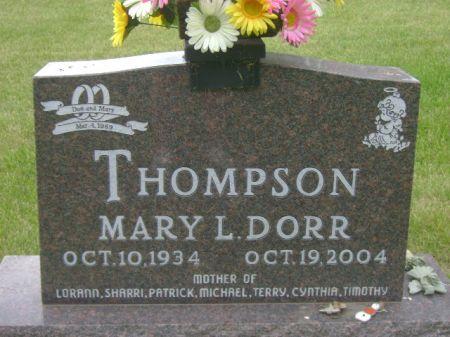 THOMPSON, MARY L. - Wright County, Iowa | MARY L. THOMPSON