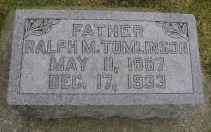 TOMLINSON, RALPH M. - Wright County, Iowa | RALPH M. TOMLINSON