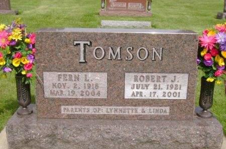 TOMSON, ROBERT J. - Wright County, Iowa | ROBERT J. TOMSON