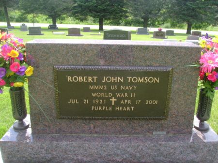 TOMSON, ROBERT JOHN - Wright County, Iowa | ROBERT JOHN TOMSON