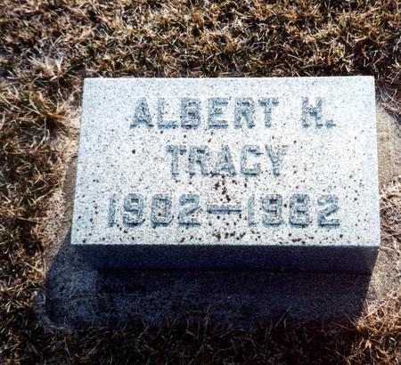 TRACY, ALBERT - Wright County, Iowa | ALBERT TRACY