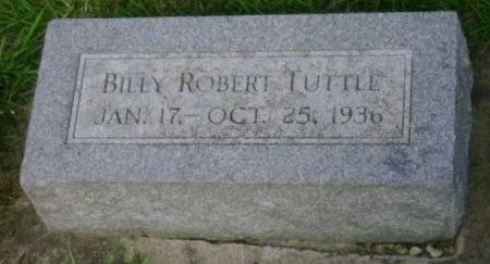 TUTTLE, BILLY ROBERT - Wright County, Iowa   BILLY ROBERT TUTTLE