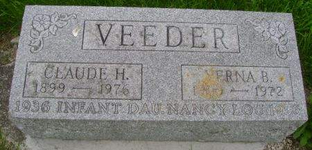VEEDER, CLAUDE H. - Wright County, Iowa | CLAUDE H. VEEDER